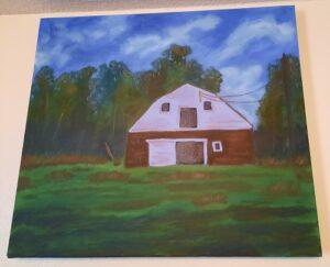 Grandpa's Barn Painting